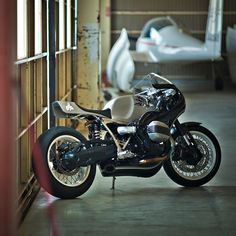 The simple, organic designs of Hideya Togashi have been charming Japanese custom fans since 2003. For this custom BMW R Nine T, Togashi has taken a minimalist approach: The hand-beaten, unfinished aluminum bodywork is timeless and flowing, giving the R nineT a super-sleek look with a hint of 1970s GP bikes. See more images at http://www.bikeexif.com/r-nine-t