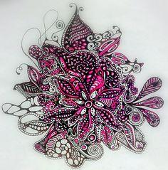 Doodle in Black n Pink by ~TessHoskins on deviantART