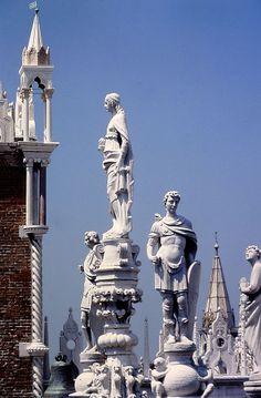 Palais des Doges - détail sur les toits