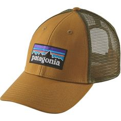 b5aa6510a976a Patagonia P6 LoPro Trucker Hat ( 29) ❤ liked on Polyvore featuring  accessories