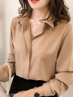 V Neck Plain Blouses #longsleeve #forwork #plainblouse #blouse #blouses #blousedesigns #casual #casualstyle #blousesforwomen #blousesshirts #blusas #blusasmujer #blusasfemininas #blusasdemoda #afflink #fashion #womensfashion #womenswear #womensoutfits #tops #topsforwomenideas #bluse #blusestylen #shirtblouses