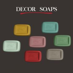 Decor Soaps at Leo Sims • Sims 4 Updates