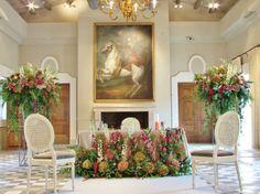 decoracin floral para boda