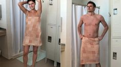 The Censorship Towel Blurs Out Your Naughty Bits