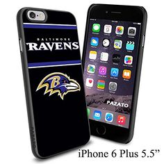 """NFL BALTIMORE RAVENS , Cool iPhone 6 Plus (6+ , 5.5"""") Smartphone Case Cover Collector iphone TPU Rubber Case Black [By NasaCover] NasaCover http://www.amazon.com/dp/B012BCNIF8/ref=cm_sw_r_pi_dp_H1oXvb13SFE13"""