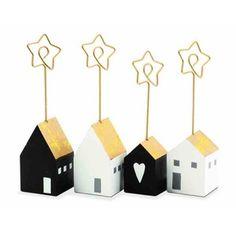Sada 4 stojančekov na menovky House Bon Marché Rive Gauche, Sad, House, Ideas, Contact Form, Home, Thoughts, Homes, Houses