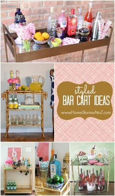 Trend Alert: The Styled Bar Cart
