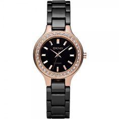 DKNY Ceramic Crystal Bezel Ladies Watch NY4981 DKNY. $129.00. New DKNY NY4981 Women's Ceramic Crystal Bezel Watch. Save 34%!