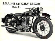 1936 BSA De Luxe