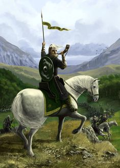 Eorl musters the North by woutart.deviantart.com on @DeviantArt