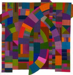 Byzantium II by Marilyn Henron. I have been a fan of her work for 30+ years....way before the so called Modern Quilters movement