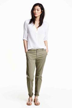 Szűkülő szárú nadrág | H&M
