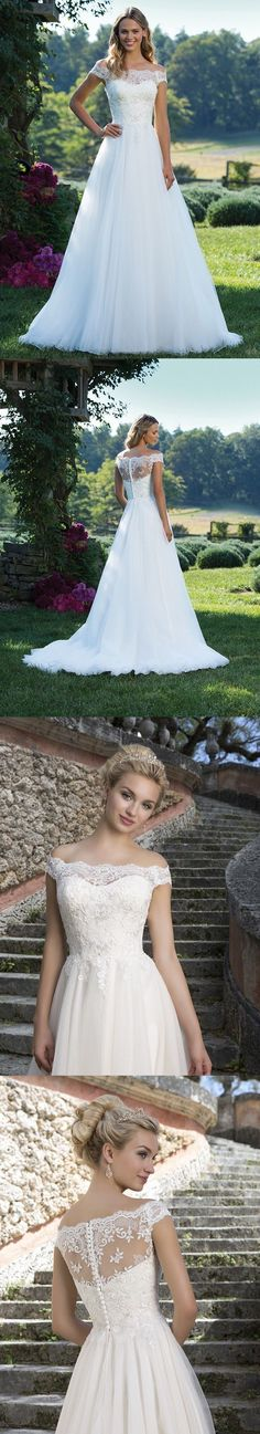 Wedding Dresses: New White/Ivory Lace Wedding Dress Bridal Gown Custom Size:6 8 10 12 14 16 18+++ -> BUY IT NOW ONLY: $67 on eBay!
