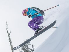 For all those days when you rule the mountain, the W Powderqueen Jacket with a longer relaxed freeride fit allows you to feel free and challenge the mountain. Built for joyful freeride days on big mountains, this highly-breathable, waterproof, Primaloft® Ski Jackets, Jackets For Women, Big Mountain, Outdoor Wear, Skiing, Shop, How To Wear, Cardigan Sweaters For Women, Ski
