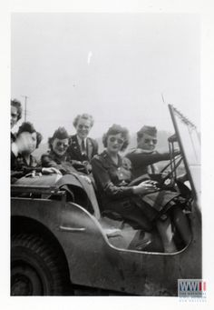 Nurses riding in a Jeep during World War II   The Digital Collections of the National WWII Museum : Oral Histories