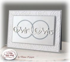 Quietfire Creations: Mr. and Mrs. Wedding card
