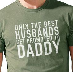Gifts for Dad Only The Best Husbands Men's T Shirt by ebollo