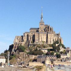 Abbaye du Mont-Saint-Michel in Le Mont-Saint-Michel, Basse-Normandie