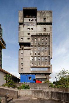 Caja Costarricense de Seguro Social, San Jose, Costa Rica. Architect: Alberto Linner. #architecture