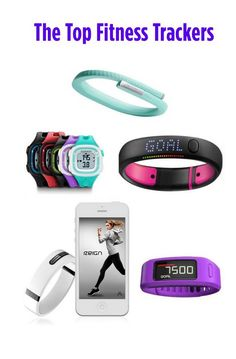 The Top Fitness Trackers to Get You to Your Goal!