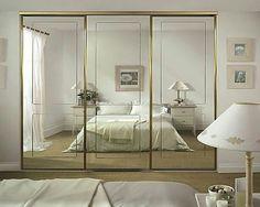 А ведь есть место банальному шкафу-купе в красивой спальне! ✔Во-первых, потому что это удобно,…» Bedroom Wardrobe, Wardrobe Closet, Closet Doors, Residential Interior Design, Interior Architecture, Shoe Cabinet Design, Wardrobe Design, My Room, Small Spaces