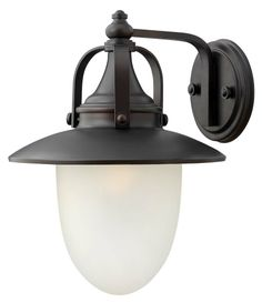 Pembrook Large Wall Sconce Outdoor shown in Spanish Bronze by Hinkley Lighting - 2084SB-LED