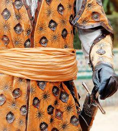 Dorne costume detail - Game of Thrones