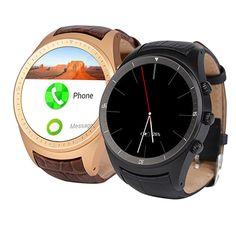 "K18 Freies Verschiffen Smart Uhr 3G X5 Android WCDMA WiFi Bluetooth SmartWatch GPS 1,4 ""Amoled-display ähnliche Huawe uhr //Price: $US $133.99 & FREE Shipping //     #clknetwork"