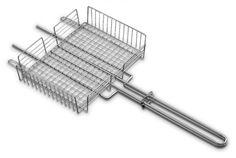 Grelha de aço inox para legumes - 26485000 : Utilidades Gerais para o Lar - Churrasqueiras e acessórios   Tramontina