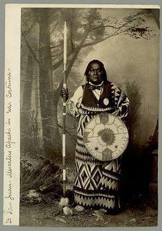 San Juan - Mescalero Apache - circa 1886