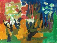 Thore Heramb | Garden Trees, 1990