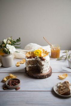 Cake with Pineapple Lime Jam - Twigg Studios
