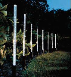 Lampes solaires en forme de bâton de cristal - achetez Lampes solaires en forme de bâton de cristal à prix réduit - LeKingStore