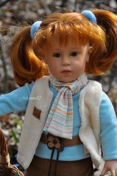 Lucienne (Люсьен) от Gotz (Готц) 2003 года - весенняя прогулка! / Куклы Gotz - коллекционные и игровые Готц / Бэйбики. Куклы фото. Одежда для кукол