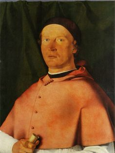 LOTTO, ritratto di Bernardo de Rossi, 1505, Napoli