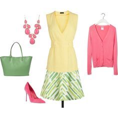 """Light Summer/Light Spring - pink"" by adriana-cizikova on Polyvore"