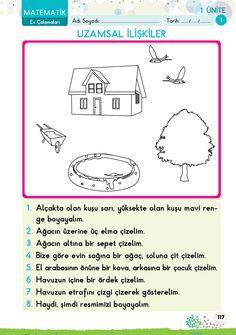 1. Sınıf Konu Anlatım EV ÇALIŞMALARI Turkish Lessons, Learn Turkish, Following Directions, Class Activities, Dyslexia, Mathematics, Worksheets, Kindergarten, Education