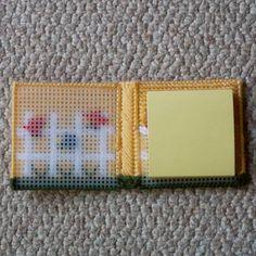 Plastic Canvas: Fence Notepad Holder notepad por ReadySetSewbyEvie