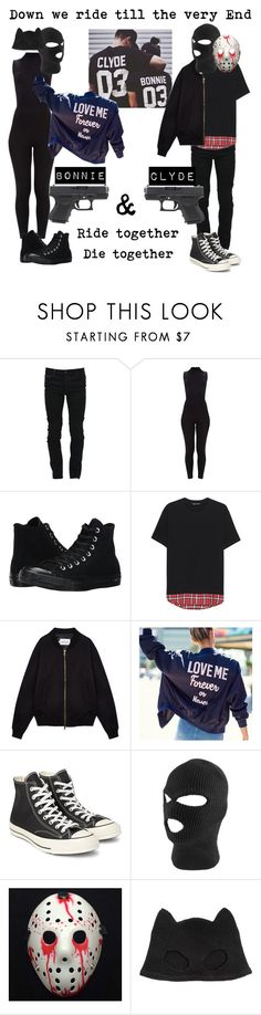 """""""Ride Together, Die Together"""" by danilicious86 ❤ liked on Polyvore featuring Marcelo Burlon, Converse, Neil Barrett, Sefton and Silver Spoon Attire"""