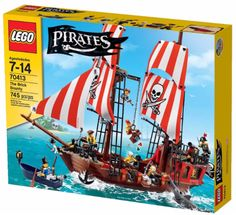 LEGO Pirates 2015 The Brick Bounty 70413 Box Pirate Ship Set