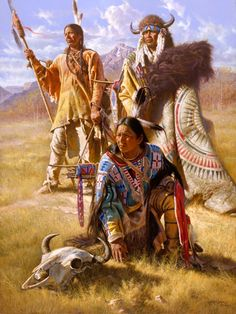 Are you looking for Native American Jigsaw Puzzles? If you love Native American themed puzzles you'll enjoy these puzzles from the art of famous artists. Native American Paintings, Native American Pictures, Native American Beauty, Indian Pictures, American Indian Art, Native American History, Indian Paintings, American Indians, Native Indian