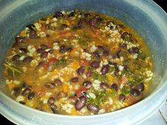 On the path to zen...: Black Bean and Kale Soup
