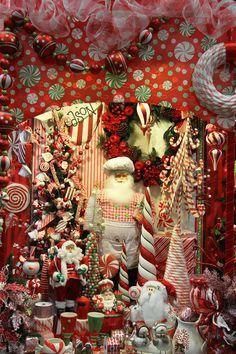 "Candy Cane Christmas ""The Decorator's Super Warehouse"" Santa Ana, Ca, San Diego, Ca Online www.shinodadesigncenter.net"