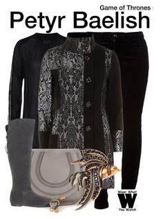 """""""Game of Thrones"""" by wearwhatyouwatch ❤ liked on Polyvore featuring InWear, Gucci, Izabel London, Chloé, Miss KG, Oscar de la Renta, television and wearwhatyouwatch"""