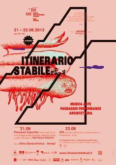 Lorella Pierdicca (LL Design), poster for Rocca Malatestiana di Cesena