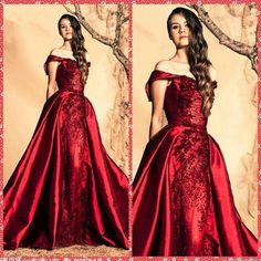 Ziad Nakad Burgundy Evening Dresses Vestidos De Festa Bateau Off Shoulder Formal Satin 2016 Red Carpet Beaded Crystal Prom Dressess Evening Dress Hire Evening Dress Sale From Wanyuweddingdress, $166.84| Dhgate.Com