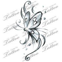 Marketplace Tattoo Butterfly sw #15098 | CreateMyTattoo.com