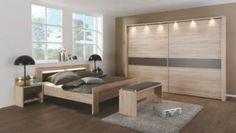 Schlafzimmer mit Bett 180 x 200 cm Eiche Säreau/ Havanna Jetzt bestellen unter: https://moebel.ladendirekt.de/schlafzimmer/komplett-schlafzimmer/?uid=9afa8d47-4aed-535d-8cc3-35c5f618102a&utm_source=pinterest&utm_medium=pin&utm_campaign=boards #komplettschlafzimmer #schlafzimmer