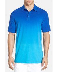 Bugatchi Tie-Dye Pima-Cotton Polo Shirt in Blue for Men (ROYAL BLUE) | Lyst