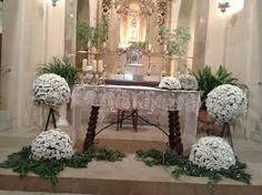 Resultado de imagen de adornos iglesia primera comunion
